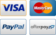 We Accept Paypal, Visa, Mastercard
