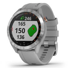 Garmin Approach S40 Golf GPS - Stainless Steel / Grey Band