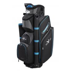 Eagles & Birdies Heritage Cart Bag - Blk/Char/Blu