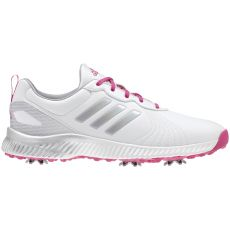 Adidas Womens Response Bounce Shoes - White/Magenta/Silver