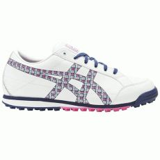 Asics Matchplay Classic Ladies Golf Shoes - White/Navy