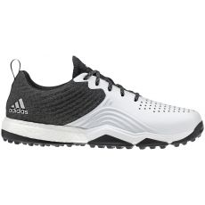 Adidas Adipower 4orged S Wide Shoes - Black/White/Silver
