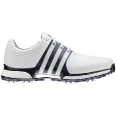 Adidas Tour360 XT Wide Shoes - White/Navy/Silver