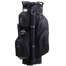 Eagles & Birdies Cypress Point Cart Bag - Black