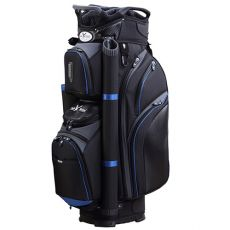 Eagles & Birdies Cypress Point Cart Bag - Black/Blue