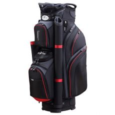 Eagles & Birdies Cypress Point Cart Bag - Black/Red