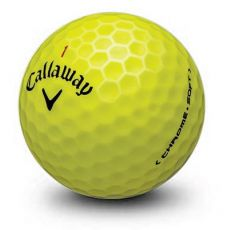 Dozen Grade 1 Callaway Chrome Soft Yellow