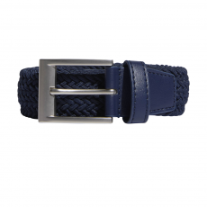Adidas Braided Stretch Belt - Navy