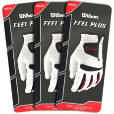 Wilson Feel Plus Gloves - 3 Pack