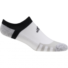 Adidas Tour360 No-Show Socks - White