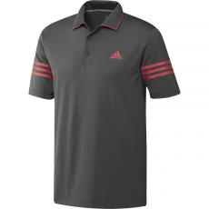 Adidas Ultimate365 Blocked Polo - Grey/Coral