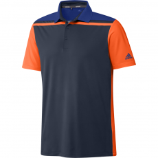 Adidas Ultimate365 3-Stripes Polo - Navy/Apsior/Blue