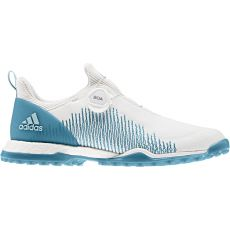 Adidas Womens Forgefiber BOA Shoes - White/Teal