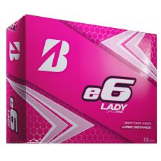 Bridgestone 2019 E6 Lady Golf Ball - Pink