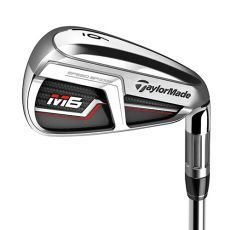 TaylorMade M6 Irons - Steel Shaft 4-PW+AW Reg