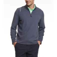 LACD Mens Stretchlite Half Zip - Charcoal