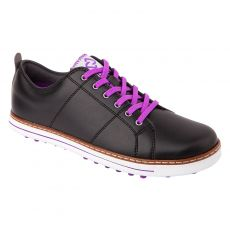 Niblick Merion Lady Crossover Golf Shoe - Black