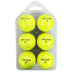 6 Pack New Optic Tour Yellow