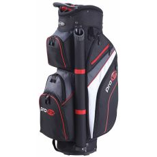 Pro FX Deluxe Cart Bag - Blk/Gry/Wht/Red