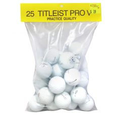 Bags of 25 Practice Titleist Prov1X