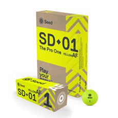 SEED SD-01 The Pro Golf Ball - Yellow