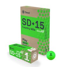 SEED SD-15 Country Mile Golf Ball - Green