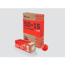 SEED SD-15 Country Mile Golf Ball - Red