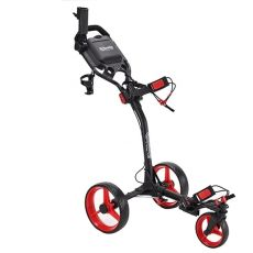 Smoothy Swivel Golf Buggy - Blk/Red