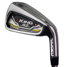 Cobra King Speedzone Irons - Steel Shaft 5-GW Left Hand