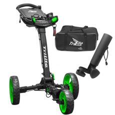 Tri Lite Deluxe Buggy Black/Green - Combo