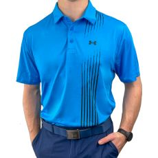 Under Armour Playoff 2.0 Graphic Polo - Elec Blue