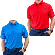 Under Armour Playoff Pique 2.0 Polo - 2PK BLU/RED
