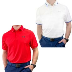 Under Armour Playoff Pique 2.0 Polo - 2PK WHT/RED