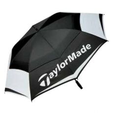 TaylorMade TM17 Dbl Canopy Umbrella 64IN