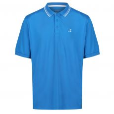 UNDER PAR CONTRAST TIPPING DETAIL POLO - BLUE/WHITE