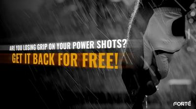 ARE YOU LOSING GRIP ON YOUR POWER SHOTS? GET IT BACK FOR FREE!